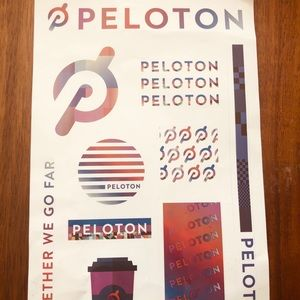 Peloton Fall 2020 stickers